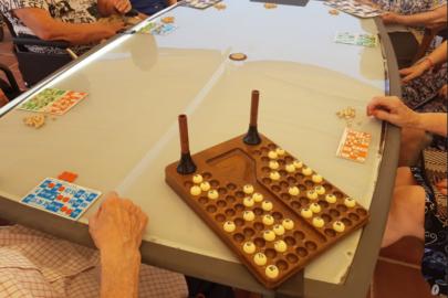 Viernes de Bingo en Residencia y centro de día Mare Nostrum, el Masnou ( Barcelona )