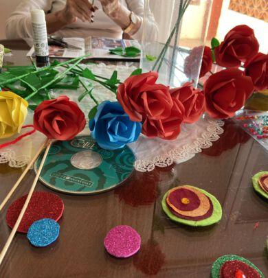 Celebramos un Sant Jordi especial en Residencia Mare Nostrum